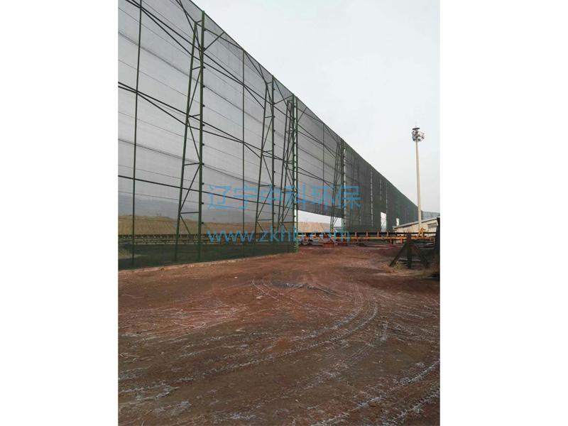 本钢集团北营原料厂双四百抑尘网项目