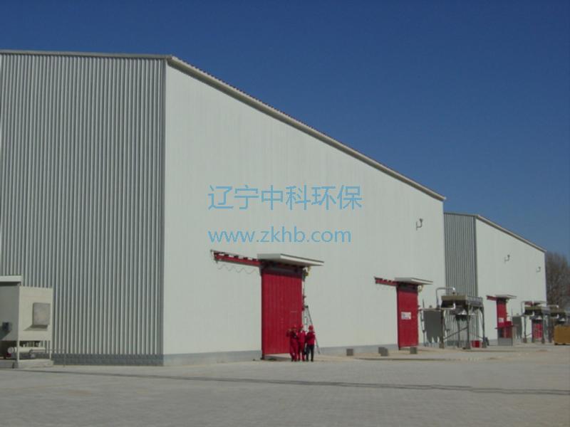 榆林压气站压缩机降噪厂房项目